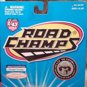 Road Champs Other - NIBSetof2GaStatePatrolDieCastPoliceSeries